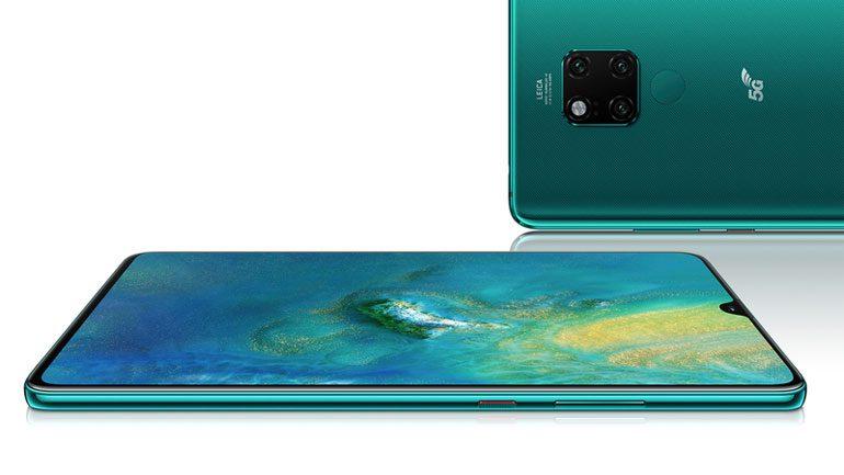 حضور رسمی هوآوی در بازار ۵G انگلستان با گوشی Huawei Mate 20 X 5G