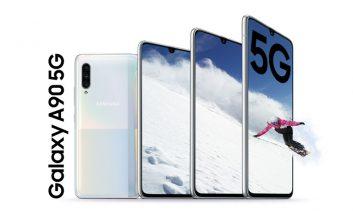 ورود به عصر جدید با نسخه ۵G گلکسی A90