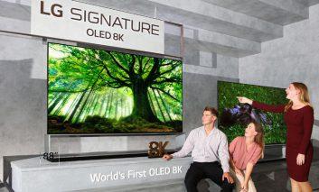 آغاز عرضه جهانی تلویزیونهای ۸K واقعی OLED و NanoCell الجی