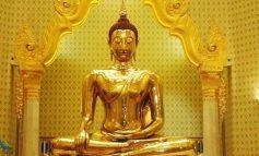 بزرگترین مجسمه طلایی بودا