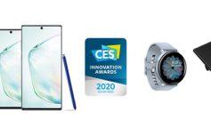 سامسونگ برنده 46 جایزه نوآوری CES 2020 شد