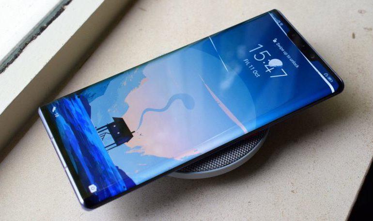 بررسی عملکرد شارژ بیسیم ۲۷ واتی هوآوی در گوشیهای سریHuawei Mate 30