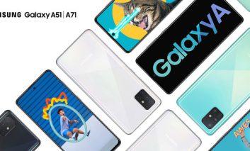 گوشیهای گلکسی A71 و A51 سامسونگ معرفی شدند