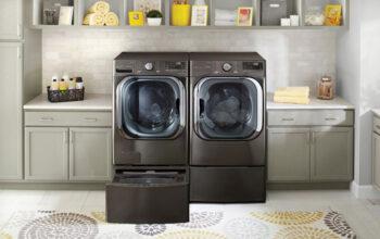 الجی با ماشین لباسشویی جدید مجهز به هوش مصنوعی