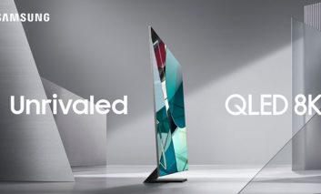 نسل جدید تلویزیونهای QLED 8K سامسونگ با نام NEXTGEN معرفی شد