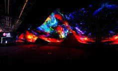 نمایش حیرتانگیز و جذاب Wave و Fountain توسط OLED الجی