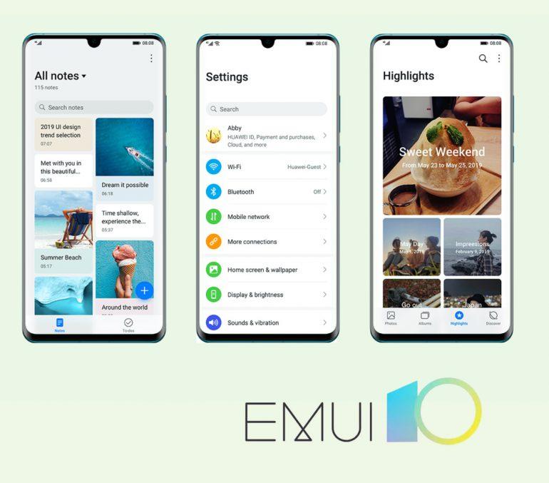 بهروزرسانی EMUI 10، رابط کاربری جدید هوآوی از مرز ۱۰ میلیون دستگاه عبور کرد
