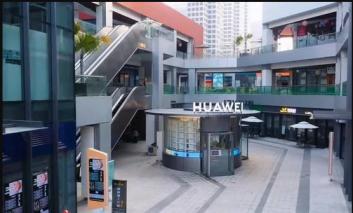 هوآوی اولین فروشگاه بدون فروشنده و رباتیک خود را در چین افتتاح کرد