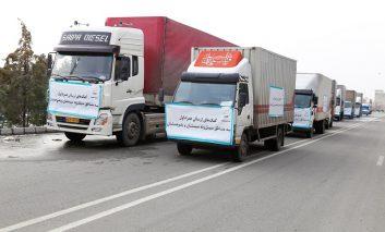 ارسال کمک های غیرنقدی همراه اول به مناطق سیل زده