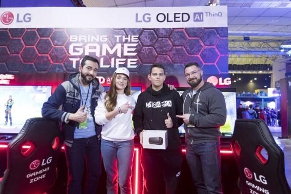 ارائه توانمندیهای گیمینگ الجی در Gameathlon 2020 یونان