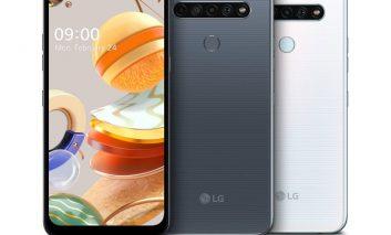 تلفنهای هوشمند 2020 ال جی سری K با امکانات دوربین پیشرفتهتر
