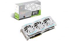 نسخه سفید کارت گرافیک STRIX GeForce 2080 Super ایسوس از راه رسید