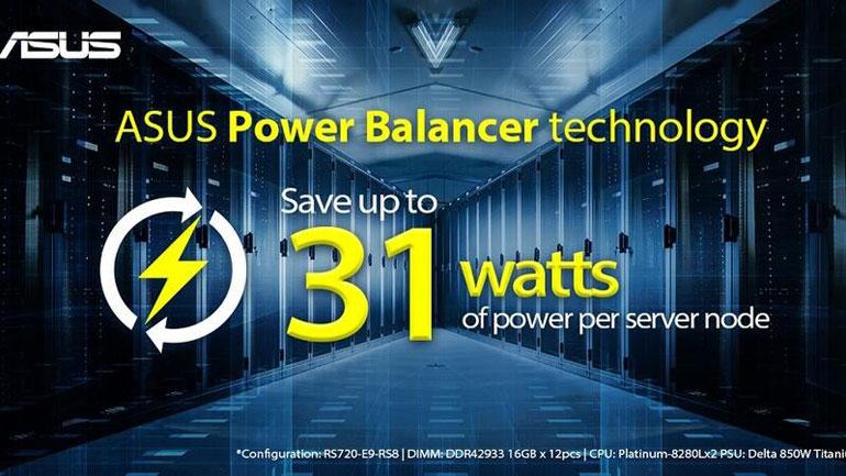 ایسوس از فناوری اختصاصی Power Balancer برای سرورهای خود رونمایی کرد