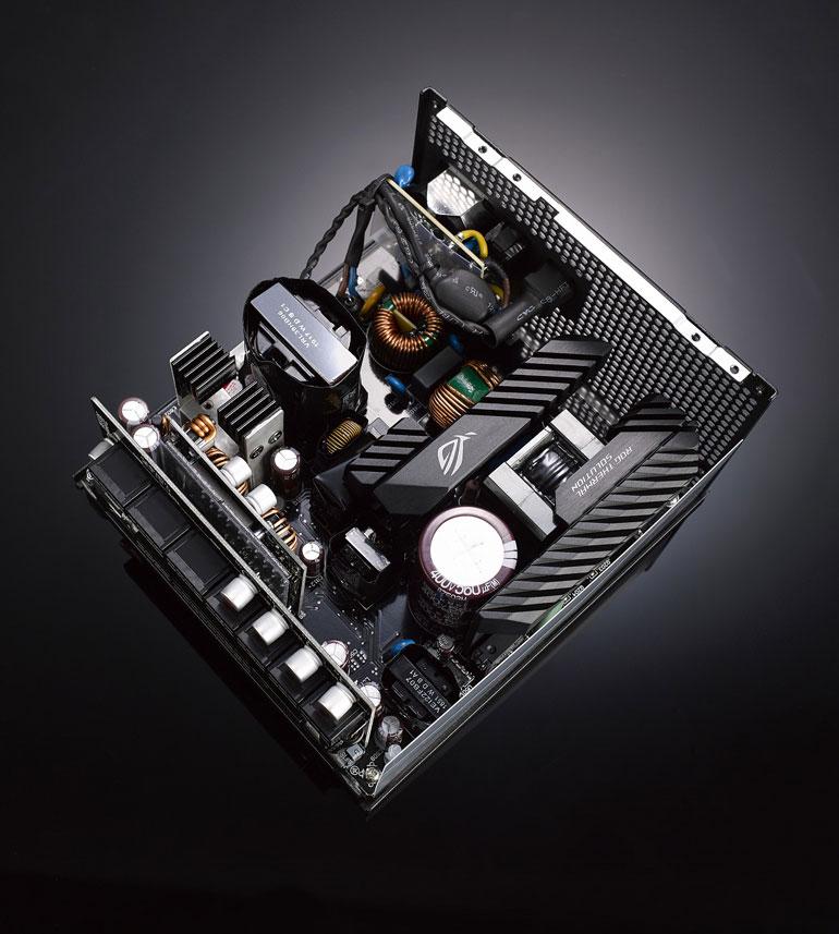 دونسخه جدید از منبع تغذیه ROG STRIX 850W ایسوس معرفی شد