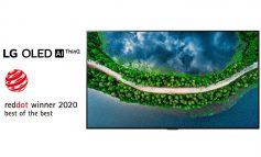 بار دیگر کسب عناوین برتر مسابقه Red Dot Design توسط تلویزیونهای OLED الجی