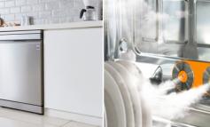 استفاده از قدرت طبیعی بخار برای ظروف و البسهای تمیزتر و ایمنتر