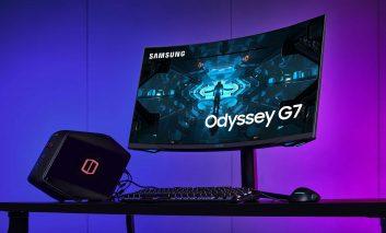 اودیسه G7؛ اولین نمایشگر گیمینگ جهان با انحنای 1000R