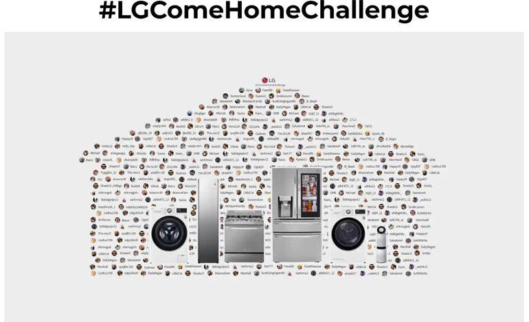 """الجی و چالش """"Come Home Challenge"""""""