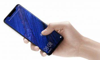 هوآوی در حال توسعهی سنسور اثر انگشتی است که در تمام سطح صفحهنمایش کار میکند