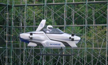 اولین آزمایش خودروی پرنده تویوتا انجام شد