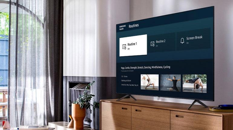 برنامه Samsung Health برای تلویزیونهای هوشمند ۲۰۲۰ سامسونگ عرضه شد