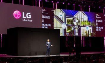 رونمایی از چشمانداز الجی برای آینده خانههای هوشمند با شعار  Life's Good from Home