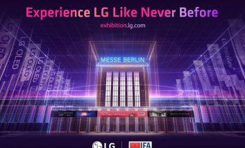 افتتاح نمایشگاه کاملاً مجازی الجی