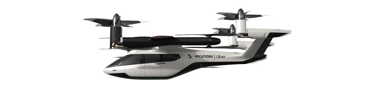 آینده حمل و نقل هوایی شهری با خودروی پرنده هیوندایی