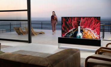 عرضه تجاری تلویزیون رولشونده OLED الجی