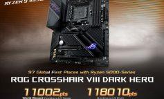 مادربرد ROG Crosshair VIII Dark Hero ایسوس تمام رکوردهای اورکلاکینگ را جا به جا کرد!