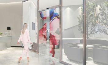 تولید درهای اتوماتیک OLED شفاف