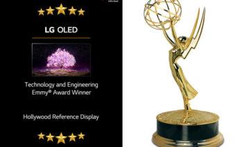 تلویزیون OLED الجی برنده جایزه ویژه EMMY AWARDS