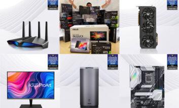 ایسوس مهمترین جوایز European Hardware Community امسال را کسب کرد