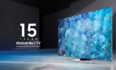 سامسونگ برای پانزدهمین سال متوالی برترین تولیدکننده تلویزیون جهان شد