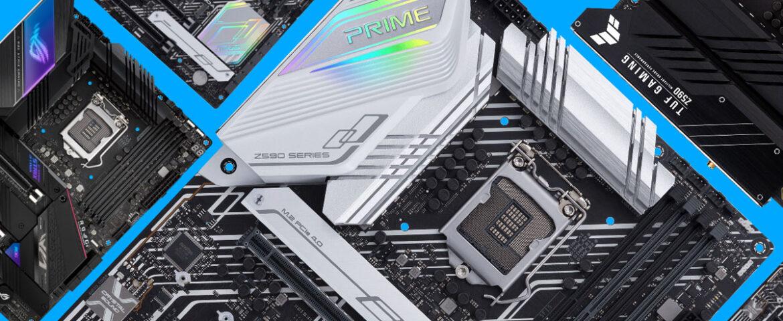 مادربردهای Z590 سری TUF Gaming و PRIME ایسوس؛ مقرون بصرفه اما قدرتمند