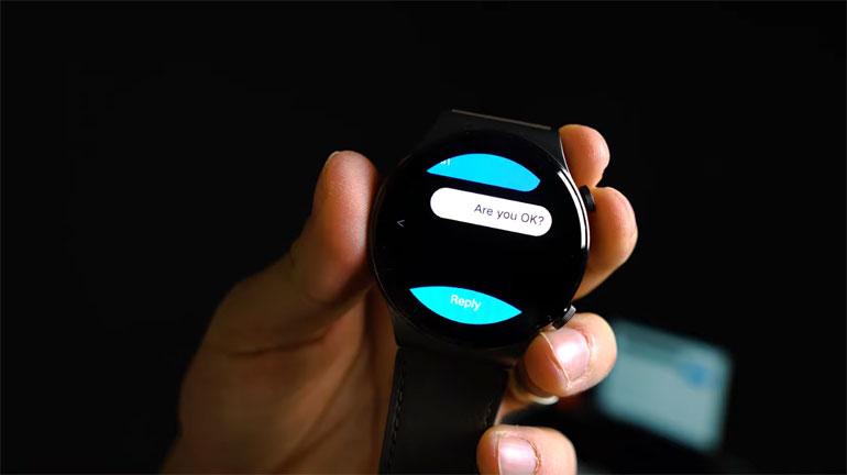 پاسخگویی به پیامها با ساعت هوشمند هوآوی Watch GT 2 Pro امکانپذیر شد