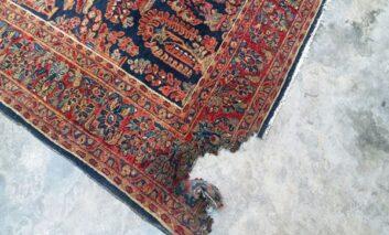 آیا فرش ماشینی رفو میشود؟ تکنیکهایی برای رفوی فرش ماشینی
