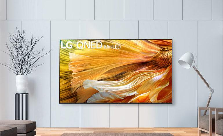 آغاز عرضه جهانی تلویزیون ال جی QNED MINI LED