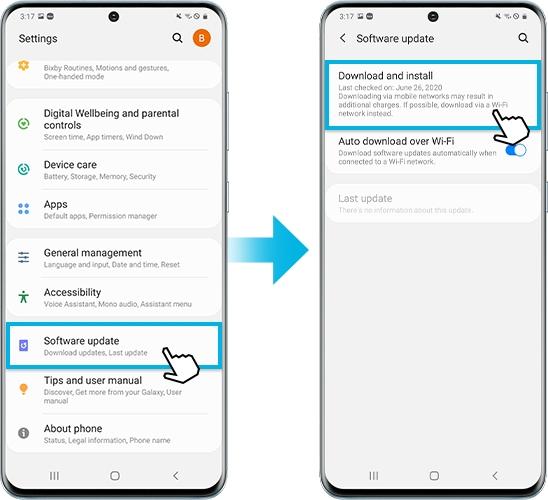 چگونه نرمافزار گوشیها و تبلتهای گلکسی سامسونگ را بروزرسانی کنید