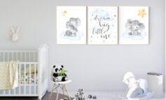 صفر تا صد طراحی شیک و کاربردی اتاق نوزاد