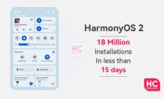 نصب سیستم عامل هارمونی روی 18 میلیون دستگاه در کمتر از ۱۵ روز