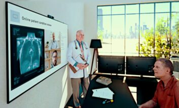 پلتفرم ویدئوکنفرانس الجی؛ پزشکی از راه دور و مبتنی بر ابر