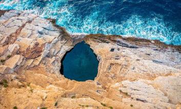 5 جاذبه گردشگری طبیعی جزایر یونان