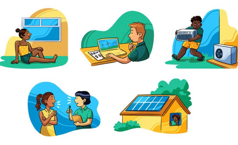 با «سبزکردن» خانهها هزینههای روزمره را کاهش دهیم
