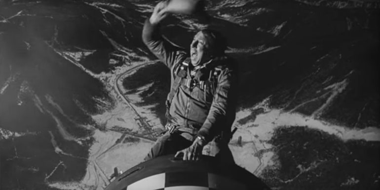 Dr. Strangelove Or: How I Learned To Stop Worrying And Love The Bomb (1964) - 8.4