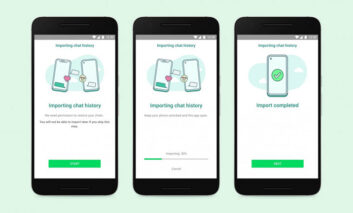 امکان انتقال چتهای واتساپ از محصولات iOS به گلکسیهای سامسونگ