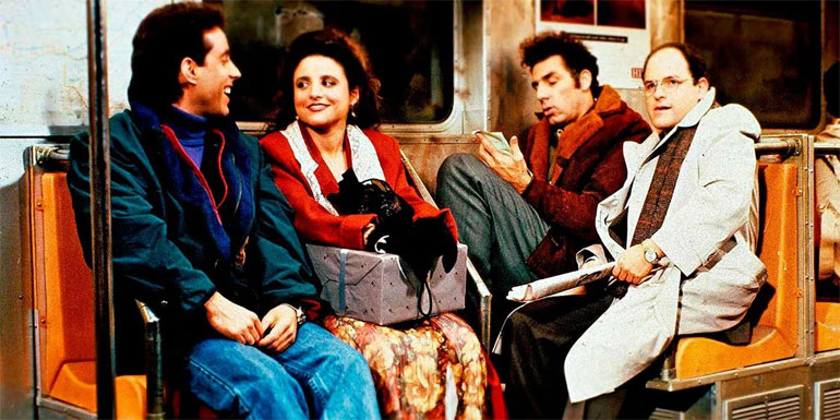 Seinfeld (1989-1998) - Stream On Netflix Beginning 10/1/21