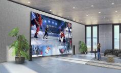 تلویزیون 325 اینچی الجی برای طرفداران سینمای خانگی