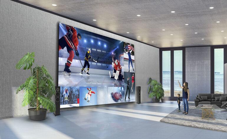 تلویزیون ۳۲۵ اینچی الجی برای طرفداران سینمای خانگی