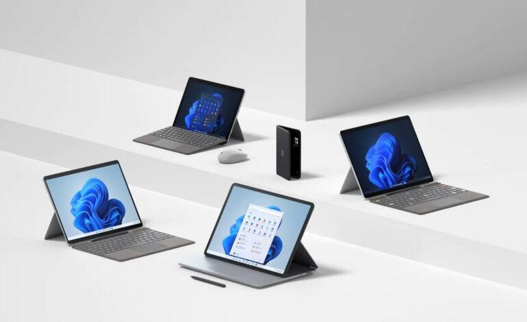 محصولات جدید مایکروسافت سرفیس در یک نگاه